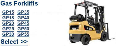 Select Cat Gas Forklifts